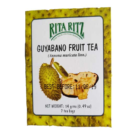 Rita Ritz Guyabano Fruit Tea 7 bags