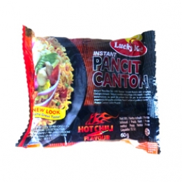 LM Instant Pansit Canton Hot Chili