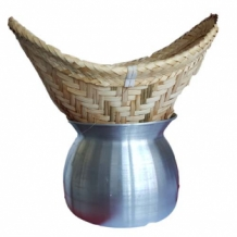 Laos Pot - Bamboo Basket